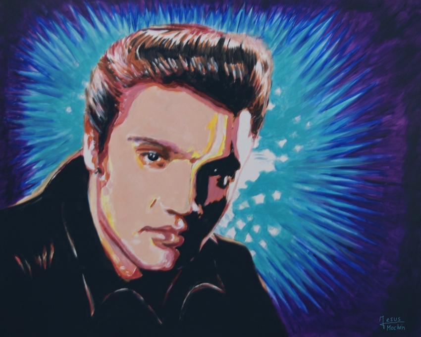 Elvis Presley by jesusmochon